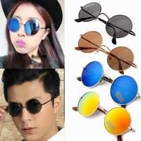 HOT Most Popular Classic Retro Avaitor Golden Mirrored Sunglasses Glasses Blue ,Black ,Coffee 8 Colors U choose