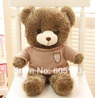0046Free Shipping Teddy bear plush toy dolls 80CM long  babybear birthday gift the cute big Couple bear gifts, wholesale