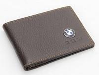 Genuine Leather License Bag For X1 X3 X5 X6 Z4 M1 M3 M4 M5 M6 M8 E70 E71 E90 E91 E92 E60 E93 notecase Car Logo card Bag ID bag