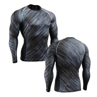 2014 Wholesale/ Retail FIXGEAR CFL-67 Compression shirt design base layer top gym training fitness