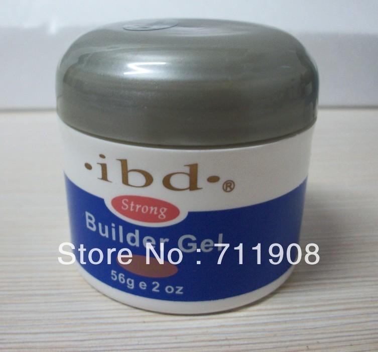 ree shipping 3pcs/lot Acrylic Nail Art UV Gel nail saloon nail art IBD Builder Gel 2oz / 56g 3 c