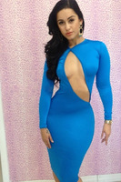 Free Shipping New Sexy Hot Selling Bind Belt Skirt Hollow Out The Dress Ladies Fashion Bandage Clubwear Bodycon Dress SD0063
