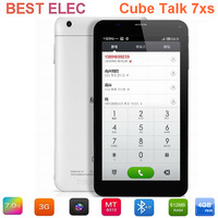 "7"" Cube talk7X/U51GTW IPS Screen 1024*600pix MTK8312 Dual Core 1.2GHz 1G/4G GPS Bluetooth Dual Cameras 3G Phone Call Tablet PC"