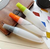 Silicone brush silicone brush egg brush with hose pipe butter chocolate cake Decorating Pen baking tools wholesale q