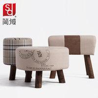 Jane shoes stool wood footstool field dressing stool ottoman stool stylish minimalist modern sofa small stool stool shipping