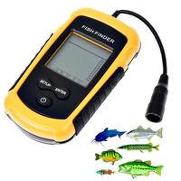 100M Portable LCD Display Sonar Sensor Fish Finder Fishfinder Alarm Transducer Fish Depth Finder