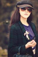 Promotion! 2014 Brand Designer Women's Sunglasses Vintage Men Sunglasses Fashion Outdoor Goggles Eyeglasses G07 , Free shipping