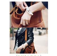 (mix order) Wholesale New Style Fashion Belt Buckle Style Leather Bracelet