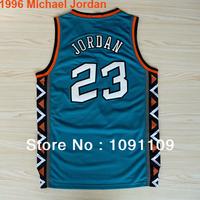 Chicago 23 Michael Jordan ALL STAR Jerseys Collection 1992 White/Blue, 1996 Green, 1998/2003 White ALL STAR Jerseys Wholesale