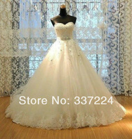 2014 White/Ivory Lace Wedding Dress Bridal Gown Custom Size 4 6 8 10 12 14 16 18 20++