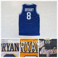 Los Angeles Kobe Bryant 8 Basketball Jersey, Cheap MESH Four Colors Kobe Bryant 8 Jersey, S-XXL Wholesale