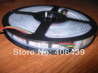 5M WS2801 led pixel strip;32leds/m;5m/roll;WS2801 IC(256 scale,8 bit),32pcs 5050 RGB leds/m,silicon tube IP67,DC5V,White PCB