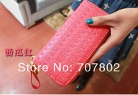 2014 Hot sale Fashion skeleton Wallets / Purse nice Gift Free Shipping  Drop shipping   JW030501  5pc/lot