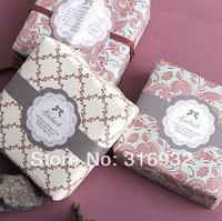 E2 Wholesale watch band shaped design zakka HAND MADE sealing sticker baking package cake box decoration