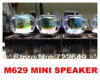 Mini Speaker Micro SD/TF Card USB Disk Audio Digital Amplifier MP3/4 Music Player FM Radio wholesale 50pcs M629 free shipping