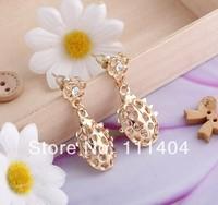 In 2014 the new style Coccinella bling JEWELRY cute earring/Hollow earrings