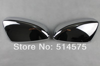 Chromed Car Door Side Mirror Cover/Rearview Side Door Mirrors Cover Trim 2pcs for New  Mazda6  m6 13 14 Mazda Atenza  2013 2014