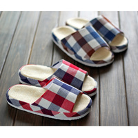 free shipping Muji high quality slippers home slippers summer indoor slippers summer slippers at home lovers
