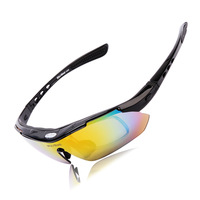 Polarized Cycling  Outdoor Sports Bicycle Glassespersol Bike Sunglasses Color Filter Driving Racing Goggles Eyewear 5 Lens
