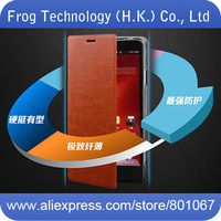 Original MOFI New Core Series Embedded manganese Flip leather case+Screen protector for Coolpad 7298A 5951 + free shipping