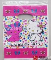 18*23CM free shipping 2014 hot selling plastic gift bag design