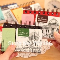 Office & school supplies magic notebook Coil Spiral Vocabulary Notebook cute school supplies FREE SHIPPING