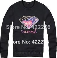Diamond Supply Co Crewneck Sweater  Print Full Sleeve Sweatshirt Pull Over Jumper Top