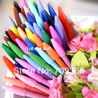 Free shipping 24 colors/lot watercolor pencil water crazy multi colored pen school office