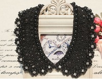 JL 2972014 fashion beading false collar pearl rhinestone necklace handmade fashion appreal accessories sweater collar decoration