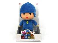 Free Shipping 2014 Pocoyo Zinkia Push Dolls Boys and Girls for Toys Best Children Gift (No Box)