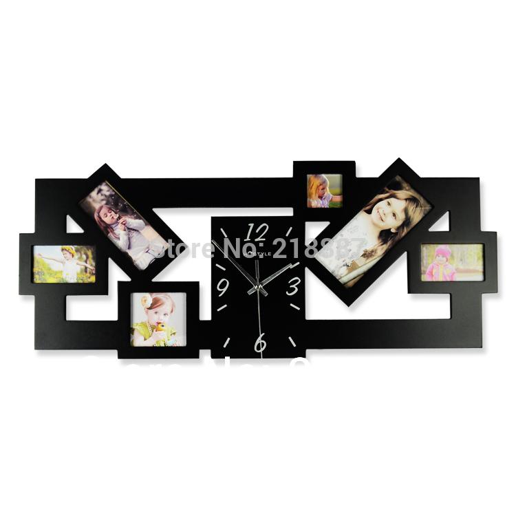 Photo Frame Design on Wall Photo Frame Art Wall Clocks
