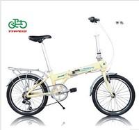 Bicycle 20 folding bicycle derailleur disc gentlewomen child bicycle intelligent anti-theft lock