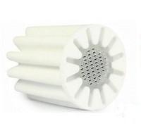 2PCS Multifunction In-Line home hotel Bathroom Shower Bath Head Filter Water Softener PE core Filter core 100% reduce chlorine