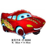 NEW  arrive 10pcs/lot Car Foil Balloon&Helium Balloon 100% Good Quality 10pcs/lot