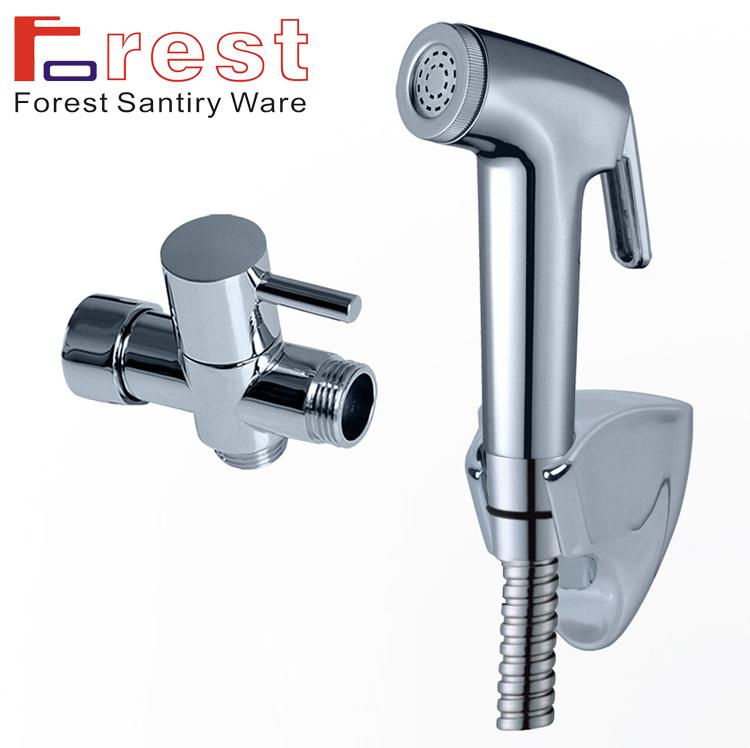"""Neue g1/2"""" t- Adapter abs toilette handheld Duschen bidet shattaf sprayer hahn-kit bidet-armatur spray bidet dusche pt-002"""