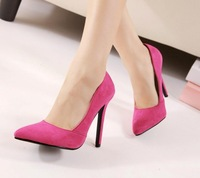 2014 summer shoes for women high heel red bottom high heels shoes pointed ladies/women pumps Vactor korean shoes sexy high-heels
