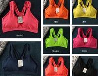 Quick-Drying Shock Absorption Professional Denim Blue Sports Underwear Bra Vest Design Running Yoga Wireless Running Sports Bra