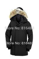 Hot Classic 2014 Langfordas Parka Men Spirit down jacket coat winter cold Goose warm real raccoon fur christmas free shipping