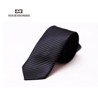 Fourthomme Exquisite fourthomme male business formal tie men's marriage tie gift box