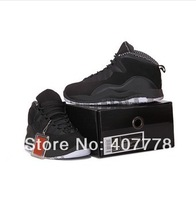 Free shipping retro 10 stealth black basketball shoes,retro basketball Shoes hot sale online