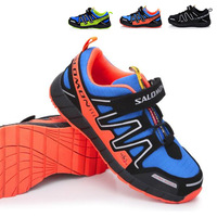 2014 new Salomon child sport shoes boys and girls casual athletic shoes children's running shoes for kids 3 color A3