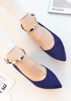 Женские сандалии high quality new fashion style women summer sweet T-Strap Korea buckle strap flat sandals shoes