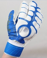 Football finger gloves latex full football goalkeeper gloves special finger band gloves three-color