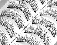 new fashion eye lashes Taiwan Pure manual eyelashes nature eyelash 20pcs false eyelashes=10pairs=1lot makeup free shipping