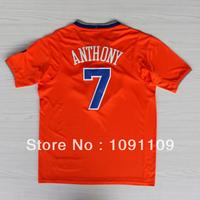 2013-14 Carmelo Anthony Christmas Jersey, New York 7 Carmelo Anthony Christmas Jersey, Short Sleeve Basketball Jersey Christmas