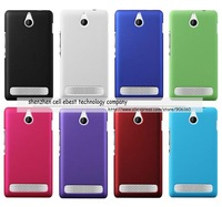 For Sony Xperia E1,hard rubber case cover skin shell,100pcs/lot,high quality,DHL free shipping