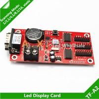 10Pcs/Lot  TF-A2 Led Single Color Dual Color Led Display Screen Sign Panel Board P10 Led Module Control Card