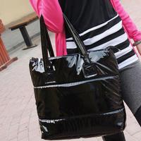 Hot-selling women's 2014 winter handbag down bag space cotton bag handbag shoulder bag cotton-padded jacket cotton-padded jacket