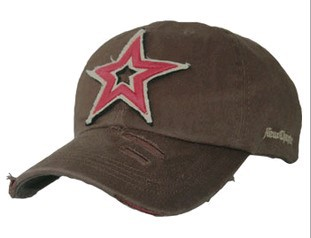 2014 Red Star Nostalgia Red Army baseball cap worn out embroidery hat 7color 1pcs free shipping(China (Mainland))