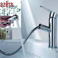 2014 New Style Chrome Brass Pull Out Faucet